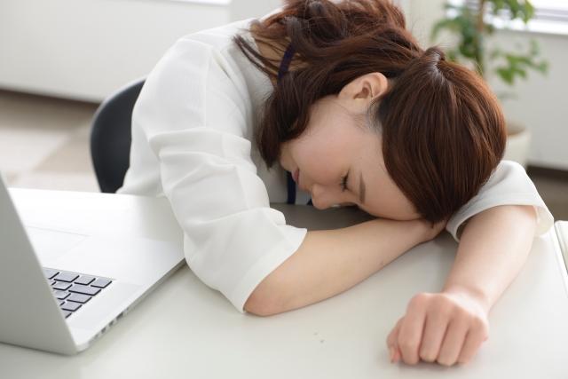 女性の疲れ